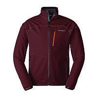 Куртка Eddie Bauer Mens Soft Shell Sandstone Jacket L Темно-красный 0686RS, КОД: 305246