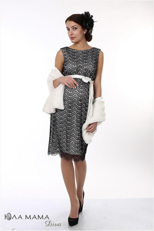 👗 Стильное вечернее платье для беременных Юла Мама. Длина — миди. Модель — Bohemia ED-1.4.1 S