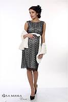 Стильное вечернее платье для беременных Юла Мама. Длина — миди. Модель — Bohemia ED-1.4.1 S