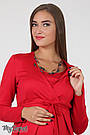 Деловое платье для беременных и кормящих Юла Мама, с запахом для кормления. Модель - Winona DR-36.022 S, фото 4