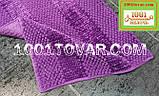 """Коврик из микрофибры """"Ананас"""" для широкого применения, 80х50 см., салатный цвет, фото 5"""