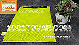 """Коврик из микрофибры """"Ананас"""" для широкого применения, 80х50 см., салатный цвет, фото 2"""