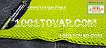 """Коврик из микрофибры """"Ананас"""" для широкого применения, 80х50 см., салатный цвет, фото 3"""