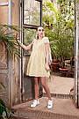 Платье для беременных и кормящих желтое Юла Мама. Модель - Amy DR-29.071 M, фото 7