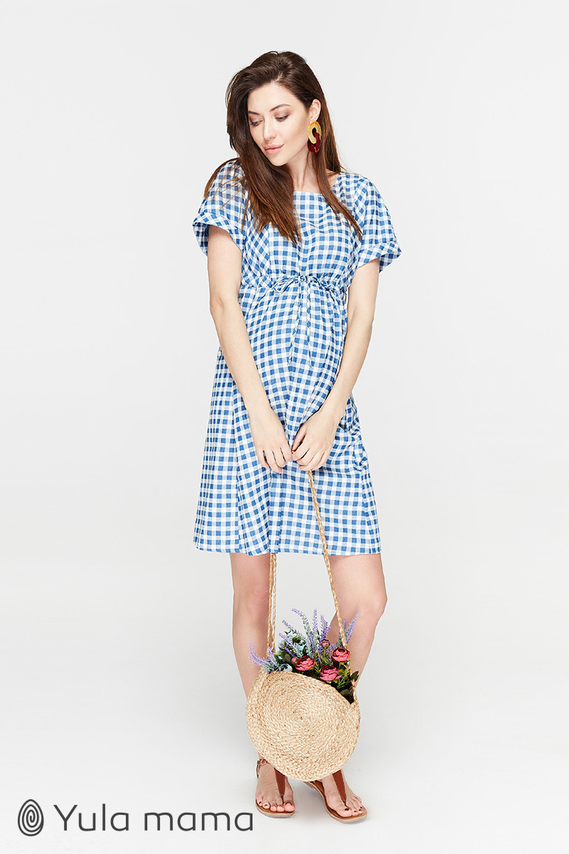 👗 Платье для беременных и кормящих тонкое летнее Юла Мама. Sherry DR-29.031 S