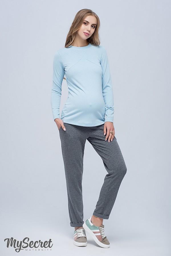 Брюки для беременных с бандажным поясом трикотажные зауженные Brioni Юла Мама (S-XL)