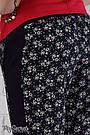 Брюки для беременных свободные с бандажной резнкой Daina Юла Мама (S), фото 5