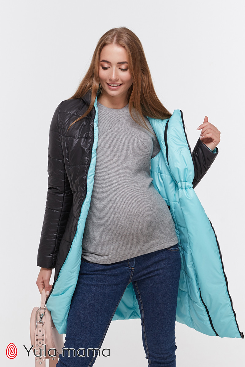Пальто для вагітних і годуючих Юла Мама Kristin OW-49.011 S