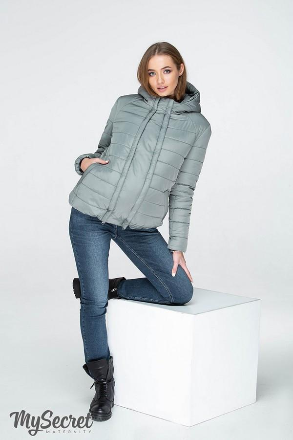 Куртка для беременных со вставкой демисезонная водо- и ветронепроницаемая Marais Юла Мама (S-XL)