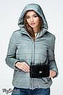 Куртка для беременных со вставкой демисезонная водо- и ветронепроницаемая Marais Юла Мама (S-XL), фото 5