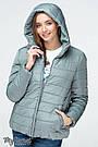 Куртка для беременных со вставкой демисезонная водо- и ветронепроницаемая Marais Юла Мама (S-XL), фото 6