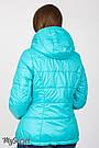 Демисезонная двусторонняя куртка для беременных Юла Мама. Вставка для живота на любой срок. Floyd OW-37.012 S, фото 7