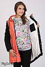 Куртка-парка для беременных с утеплителем и меховой подкладкой Lex Юла Мама, фото 5