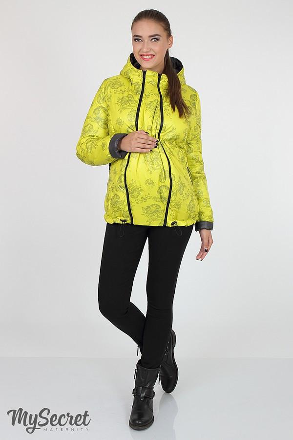 Демисезонная куртка для беременных Юла Мама двусторонняя Floyd OW-36.031 S