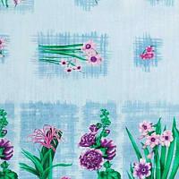 """Клеенка ПВХ в рулоне глянец Евро MA-1577 """"Bouquet"""" универсальная, 1.40*20м, клеенка столовая в рулонах, клеенка пвх, клеенка для стола, скатерти"""