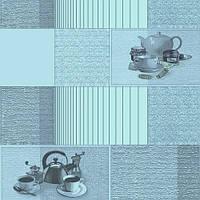 Клеенка ПВХ в рулоне Stenson MA-1793, на нетканой основе, 1.37*25 м, Клеенка столовая в рулонах, Клеенка пвх