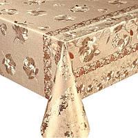 Клеенка ПВХ в рулоне MA-2554 двусторонняя чеканная, 1.37*20м, клеенка столовая в рулонах, клеенка пвх, клеенка для стола, скатерти, клеенка