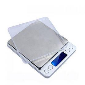Весы ювелирные 2000/0,1 электронные высокоточные с двумя чашами