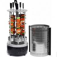 Шашлычница электрическая Domotec BBQ D-1750 на 6 шампуров 1000W