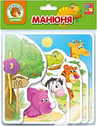 Игра-развивашка «Манюня. Зоопарк» VT2222-02 Vladi Toys (рус)