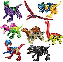 Набор Динозавры Аналог Лего 8 штук. Конструктор Набор № 4.