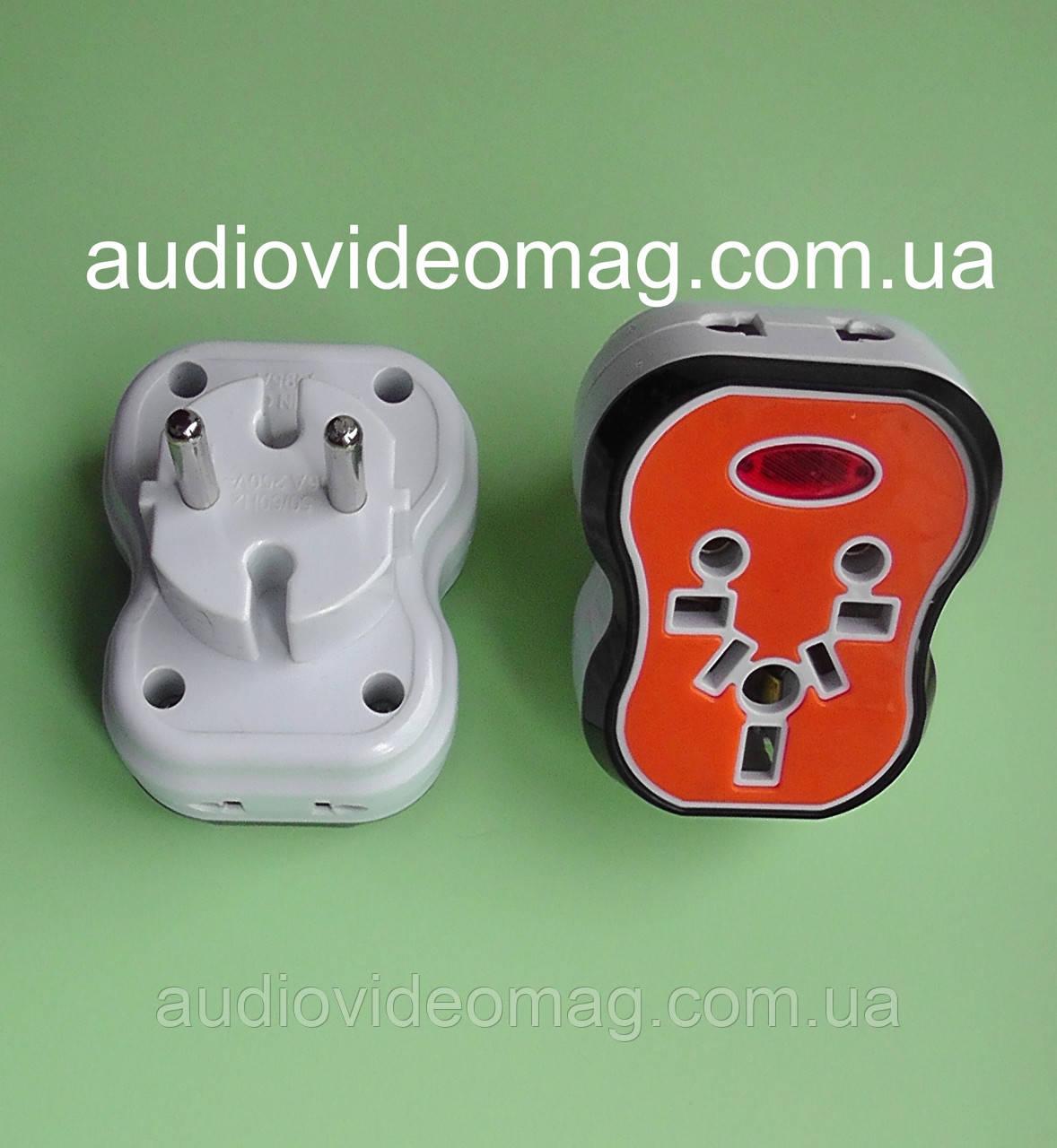 Переходник  универсальный для разных типов электровилок