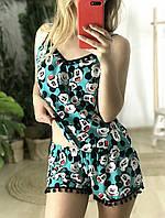 Пижама шорты и майка L-XL микки
