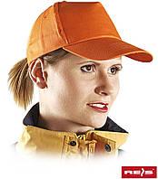 Кепка бейсболка рабочая CZ Р оранжевая