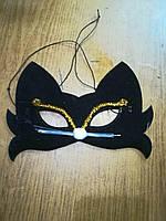 Карнавальная маска Кошка .
