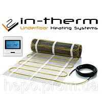 2,7м2 Теплый пол электрический In-Term FENIX Чехия на 2.7 м.кв нагревательный мат