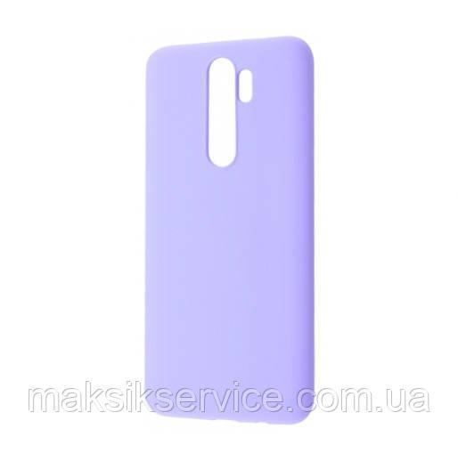 Чехол Wafe на Xiaomi Redmi Note 8 Pro light purple