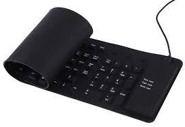 Клавиатура USB силиконовая