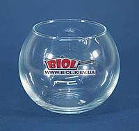 """Ваза аквариум (шарообразная) стеклянная (h 8см, d 10см) """"Flora"""" Pasabahce PA-43407"""