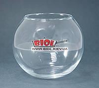 """Ваза аквариум (шарообразная) стеклянная (h 10см, d 11,5см) """"Flora"""" Pasabahce 43417"""