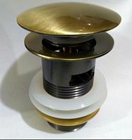 Пробка с переливом бронза  7-034, фото 1