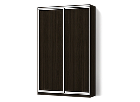 Шкаф-Купе Двухдверный Стандарт-2 ДСП Венге (Luxe-StudioTM)