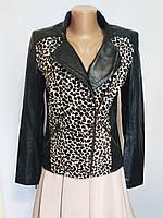 Куртка женская демисезонная кожаная косуха Autograph by M&S (Размер 42-44 (S, EU36))