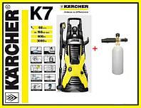 Автомобильная минимойка Karcher K7/ Міні-мийка Karcher K7 1.168-502.0 + профессиональный пенник