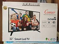 """LED Телевизор Comer 32"""" Smart TV  WiFi  1Gb Ram  4Gb Rom  T2  USB/SD  HDMI  VGA  Android, фото 3"""