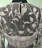 Платье длинное лавандового цвета с поясом, Турция, фото 5