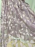 Платье длинное лавандового цвета с поясом, Турция, фото 7