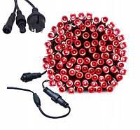 Новогодняя гирлянда 14,5 м 200 LED (Красный цвет), фото 1