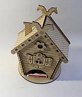Чайный домик из дерева резной Kalinin арт 132