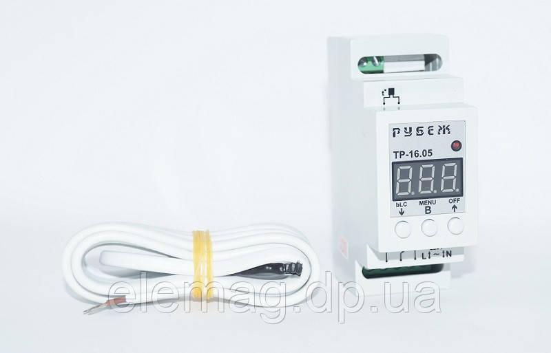 Терморегулятор ТР-16А точность 0.5 °С  (видео по настройке в описании)