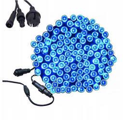 Новогодняя гирлянда 23 м 300 LED (Синий цвет)
