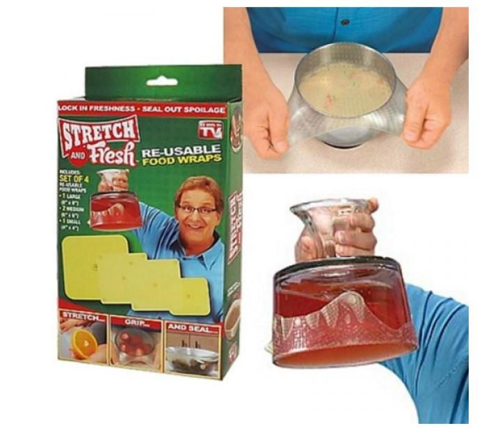 Набор силиконовых пленок  Stretch and Fresh