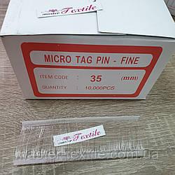 Биркодержатели 35 мм., (10 000 шт.) полипропилен