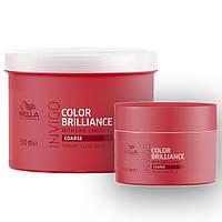 Маска-уход для защиты цвета окрашенных жестких волос Wella Invigo Color Brilliance 150 мл, фото 1