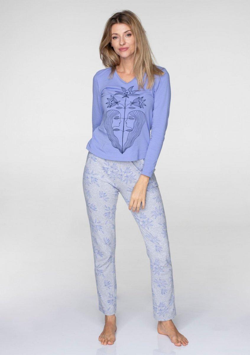 Пижама женская / Домашняя одежда Key LNS 071 B19 Размеры: L
