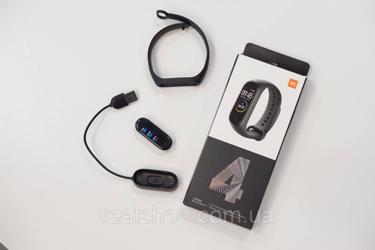Фитнес-браслет Xiaomi Mi Smart Band 4 Black Original XMSH07HM